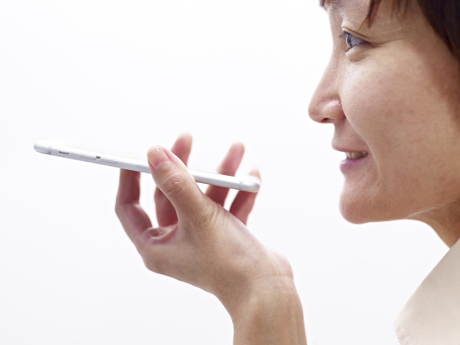 Spraak zoekopdracht in smartphone